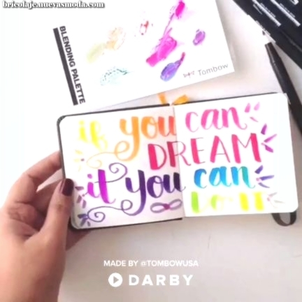 """Customize Mini Notebook with Quotes - """"If you can dream it, you can do it"""""""
