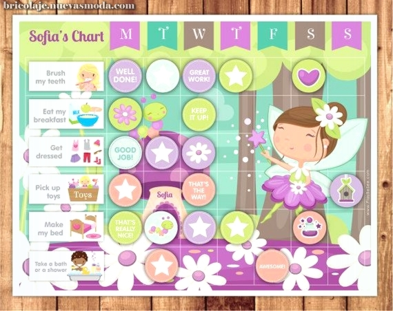 Tarea Gráfico, Reward Chart or Rutina Chart + Coro, Behavior & Rutina Cards · tarjetas de Fairy Theme ·